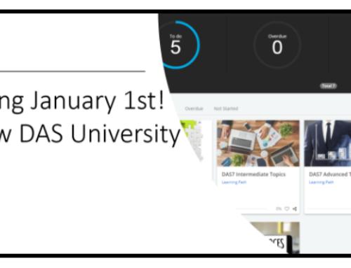 A New DAS University!