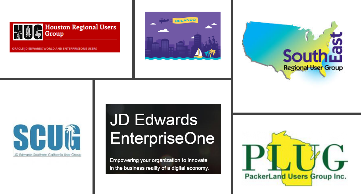 JD Edwards User Groups