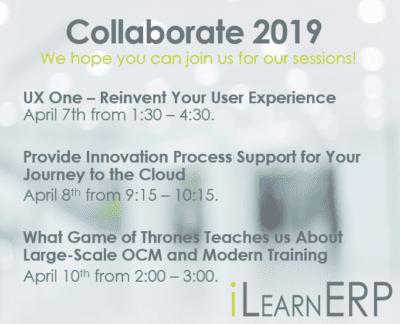 Collaborate 2019