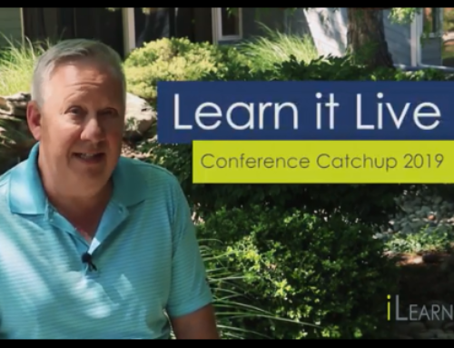 EOne Academy Learn it Live Webinars – Conference Catch Up