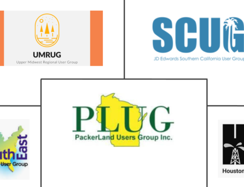 Fall JD Edwards User Group Events
