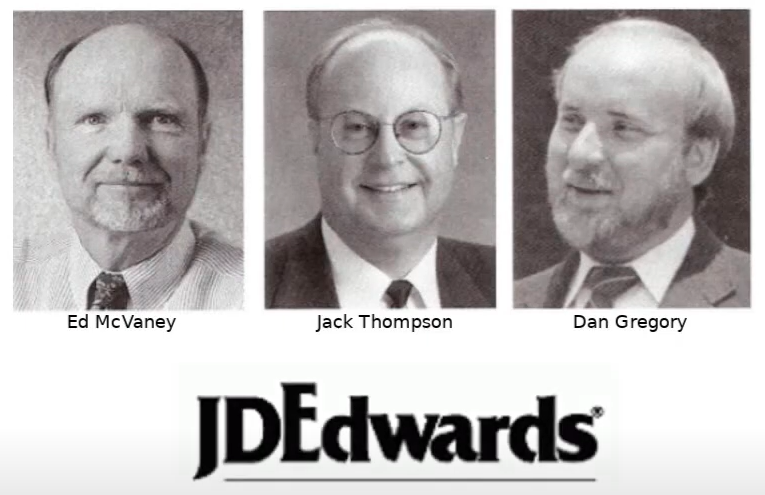 History of JD Edwards